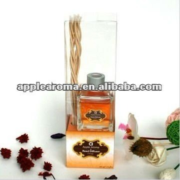 Safe and flame-free home fragrance Curled Reed Diffuser,decorative reed diffusers