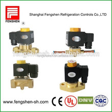 Water Solenoid Valve available R134A, R22, R407C, R404A/507, R410A, Air, Water and Oil