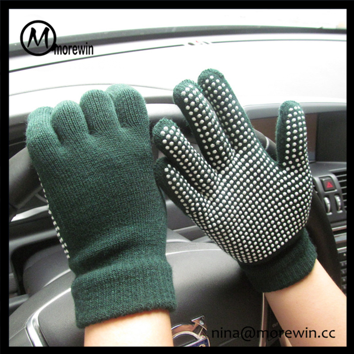 Morewin gloves amazon hot sale custom cotton cheap PVC dotted work gloves gardening gloves