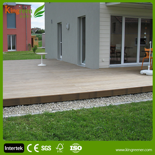 Non-slip composite decking tiles/Recycled waterproof wood plastic swimming pool deck/good price wood plastic composite decks