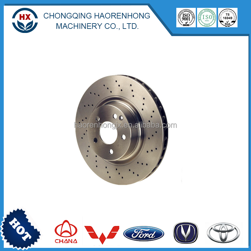 Precision durabled brake disc rotor 355