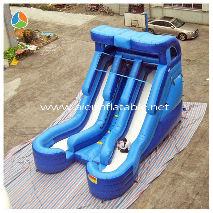 2014 Newest Three Lane Air Dry and Wet Slide