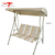 Garden Furniture Double Hanging Reclining Outdoor Swing Chair Bed with Canopy