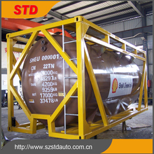 20000 liters new 20 feet sulfuric acid H2SO4 tank shipping container