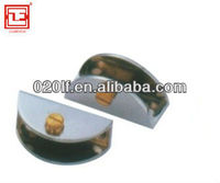 Zinc alloy glass clip for cabinet and furniture