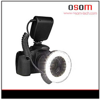Osom photography light for canon eos 7d digital slr camera macro led ring light