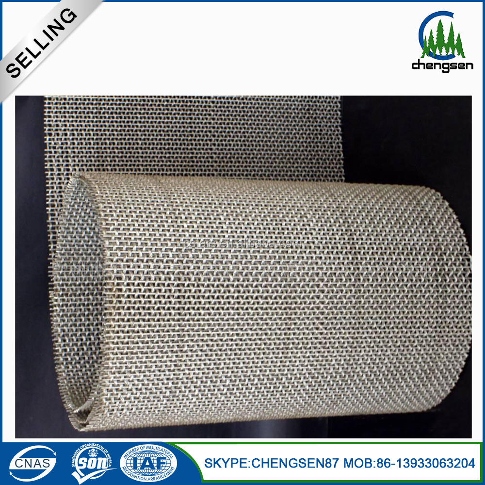 stainless steel heavy crimped wire mesh zoo animal cages