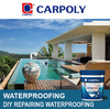 Carpoly DIY repairing waterproofing IJFS120, Acrylic waterproofing