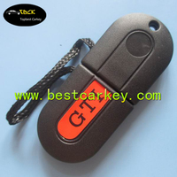 "Big Discount car smart key cover for vw key case with ""GTI"" writing on cover"