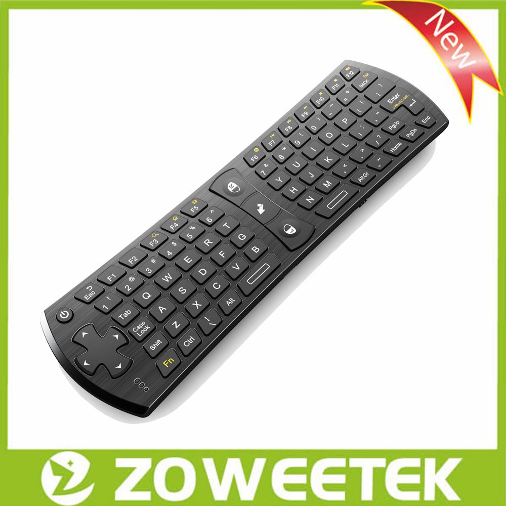 2.4G Flying Air Mouse with Mini Wireless Keyboard Universal Remote Control for Akai TV