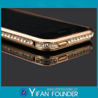 Diamond Crystal Bling Metal Aluminum Bumper Case Cover For Iphone5 5S
