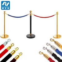 Crowd Control Stanchion 5 Red Velvet