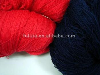 wool and acrylic blend yarn