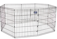 Multi-functional Durable Metal Wire Pet Rabbit Cage Round