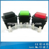 High quality electric mementary led push button switch