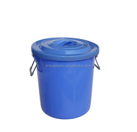 High quality plastic garden 15 gallon rain barrel