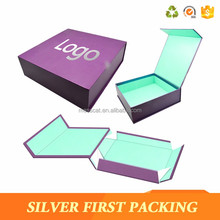 Solid Cardboard Plastic Dividers Insert Paper Chocolate Gift Box With Magnetic Hinger Lid