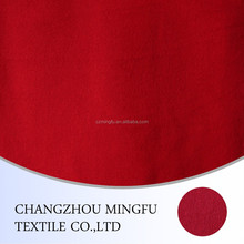 beatiful red colour 100 percent wool fabric, for women coat and other graments