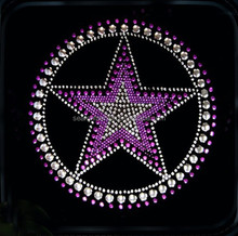hot fix rhinestone star transfer for garment sticker iron on garment sticker