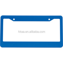 OEM aluminum anodized auto license plate frames,custom license plate frames wholesale