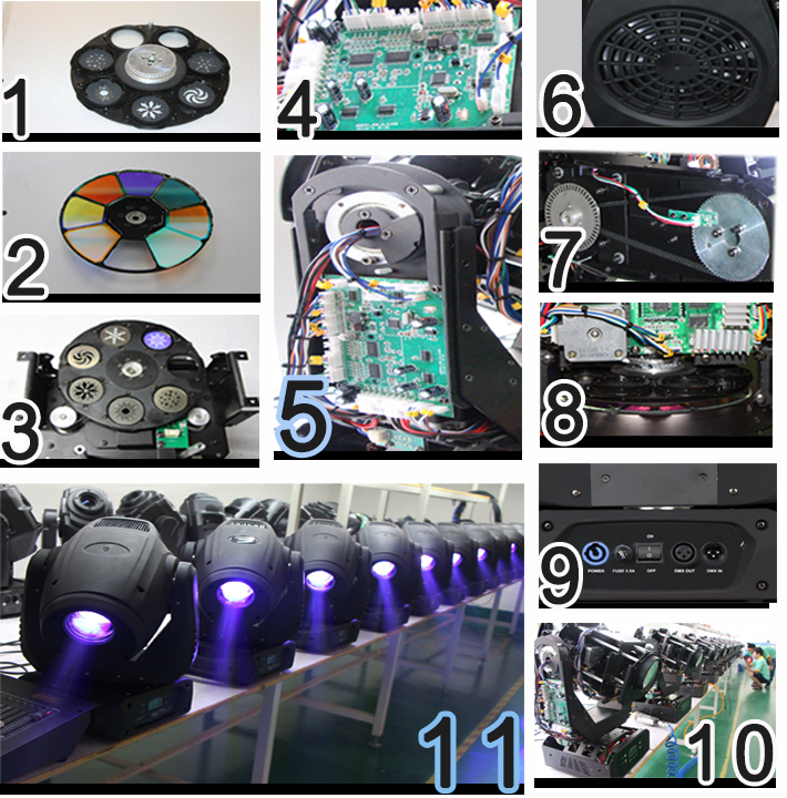70W led moving head dj gobo lights Spot moving head/led moving head lights