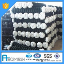 Factory Sale Iron Wire Galvanzied Chain Link Fence For Yards