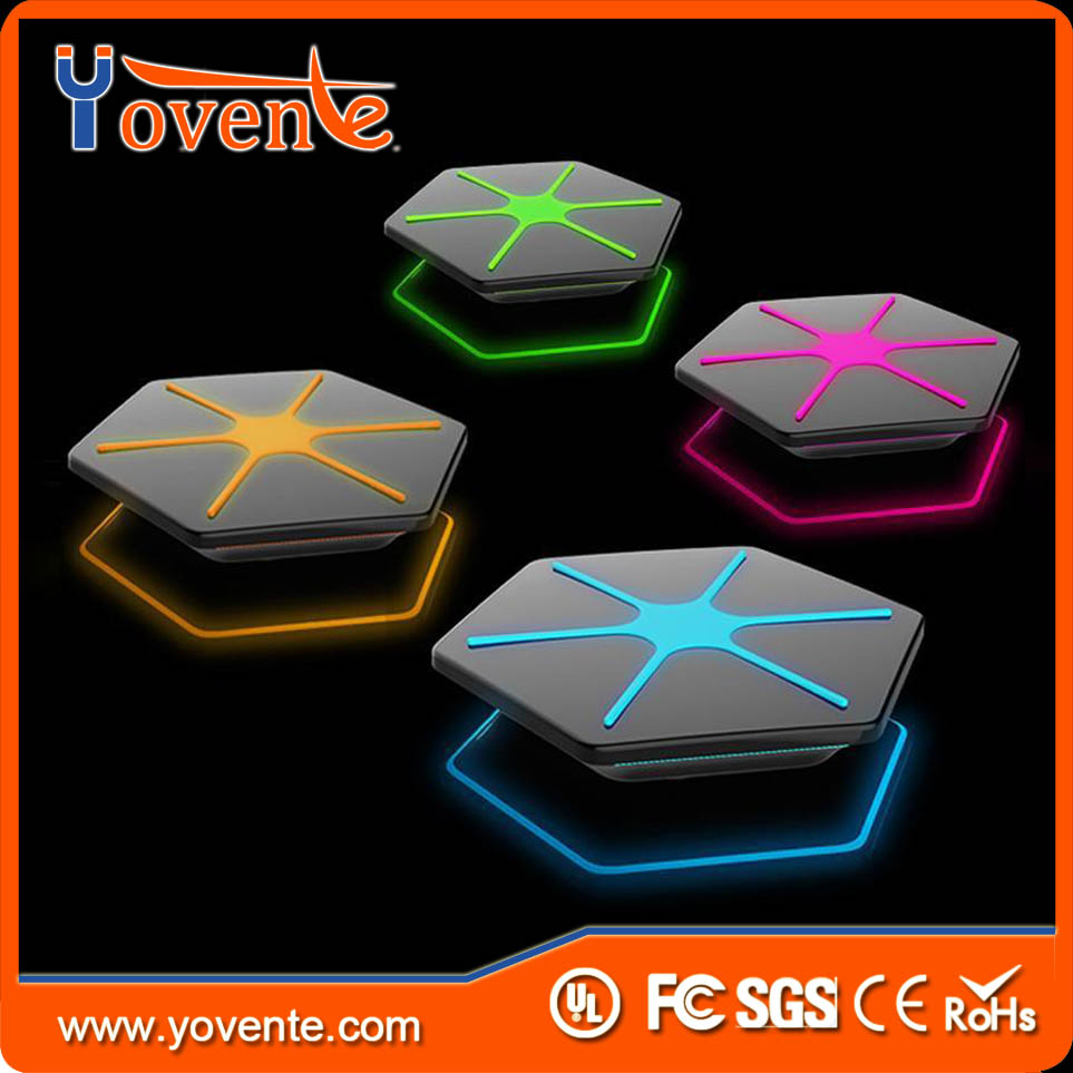 YOVENTE For Iphone 7/Iphone Air Smart Wireless Charger For Mobile Phone With LED Lights Style