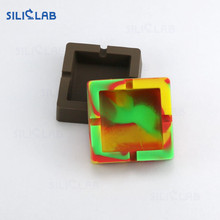 Heat-Resistant Rasta Silicone Potable Tobacco Cigar Ashtray