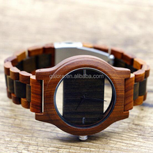 GWB262 fashion mens birthday gift custom design wood watch