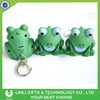 ABS Light Cute Frog Sound Keychain