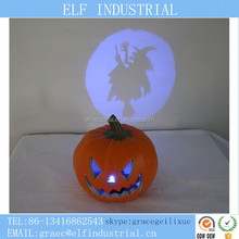 Halloween party supply unique products plastic pumpkin with led decorative lights
