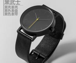 Stainless steel japan movt genuine leather fashion woman watch