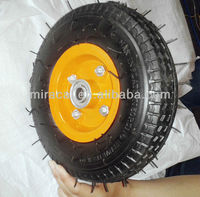 8 inch Trolley Pneumatic Wheel 2.50-4