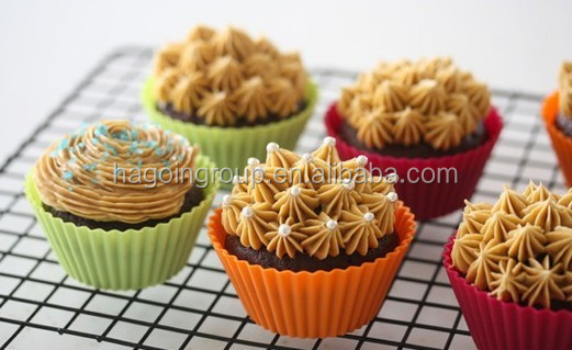 Silicone Rubber Muffin Baking Mold Cup