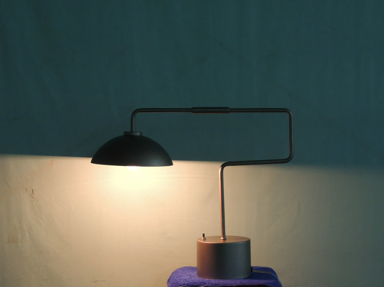 Canton fair best selling product popular square table lamp