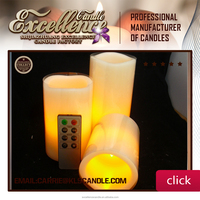 Alibaba Express Flameless WAX LED Candle Light