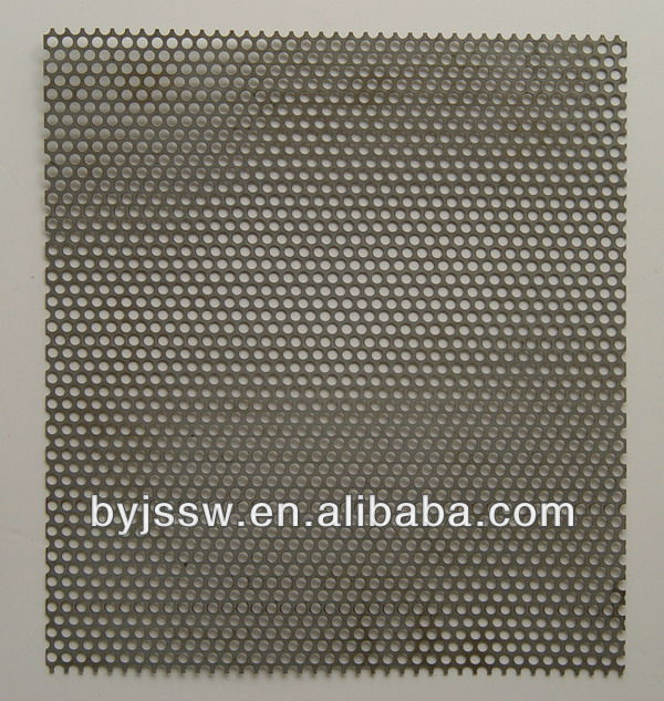 1mm 3mm Hole Galvanized Perforated Metal Mesh