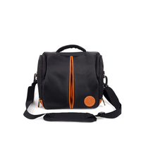 QZSD - QMD02 Useful and functional DSLR camera bag fashion shoulder bag 2016 new blac nylon waterproof camera bag factory direct