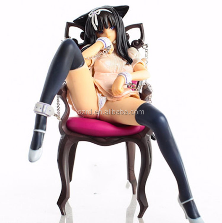 Manufacture collectible wholesale japanese nude girl sexy anime figure