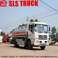 High quality Dongfeng 8x2 4 axle 5000L refueling truck