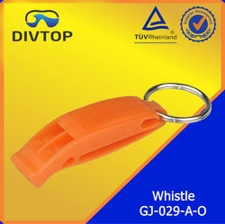 Diving Safety Whistle Orange Color