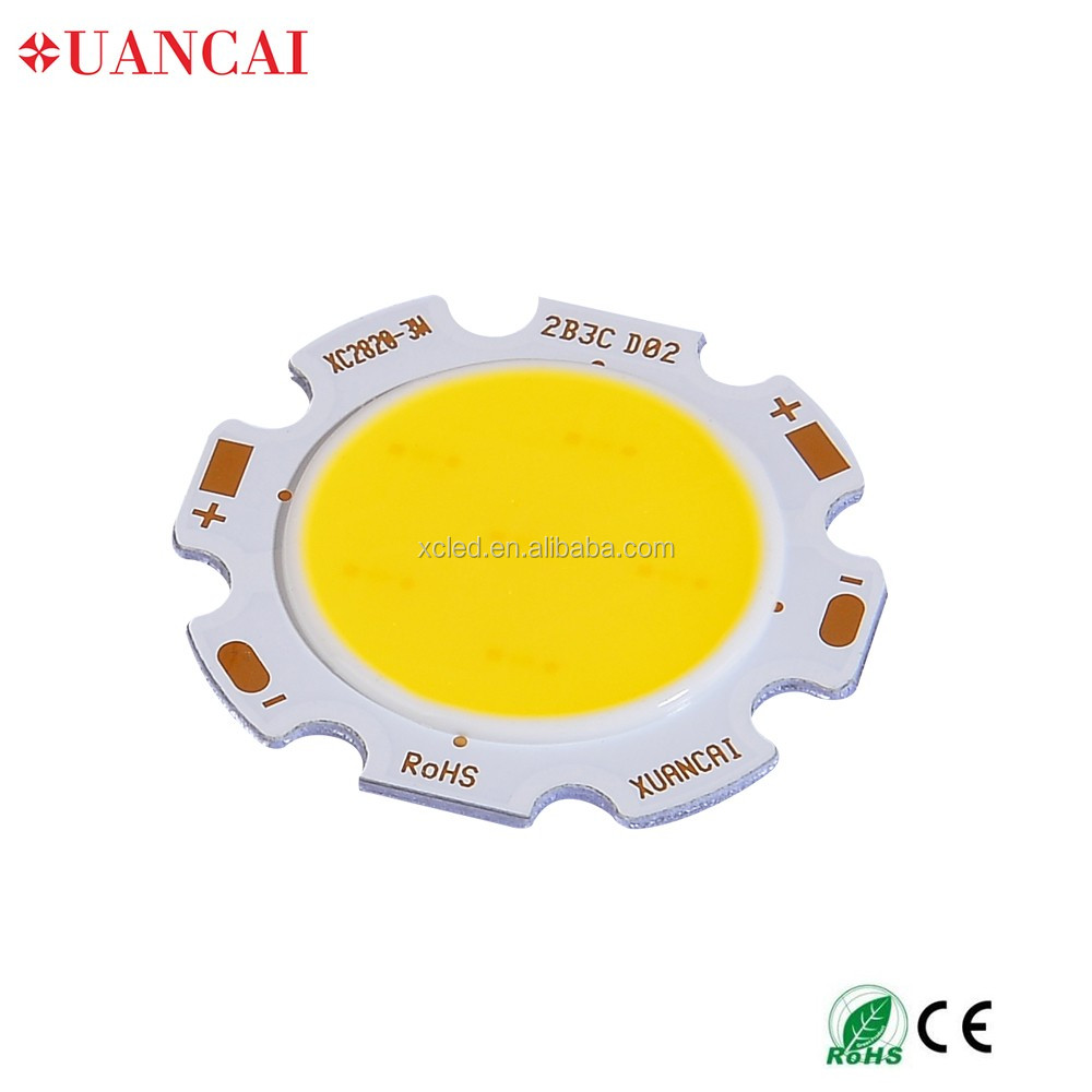 Saving energy chip on board led cob 10watt
