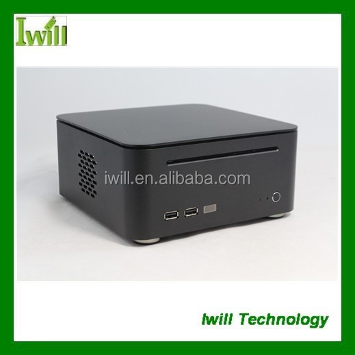 Iwill M8 HD media slim laptop computer case , mini htpc case