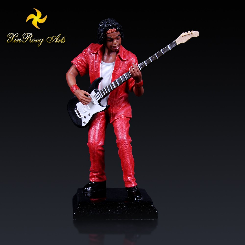 Home decor hand-made musician theme ornament small resin crafts for gift
