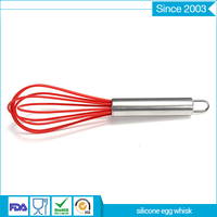 Kitchen Non-Stick Manual silicone Egg Beater egg Whisk
