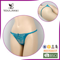 Womens Underwear Thong With Dildo Sexy Open Front Panty