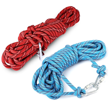 outdoor equipment of survival rope for rock climbing and hiking