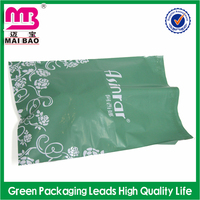 Customized printed biopdegradable clear plastic/poly mail postage bag manufacture
