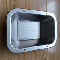 manufacturing rectangular water trough from zhejiang OEM
