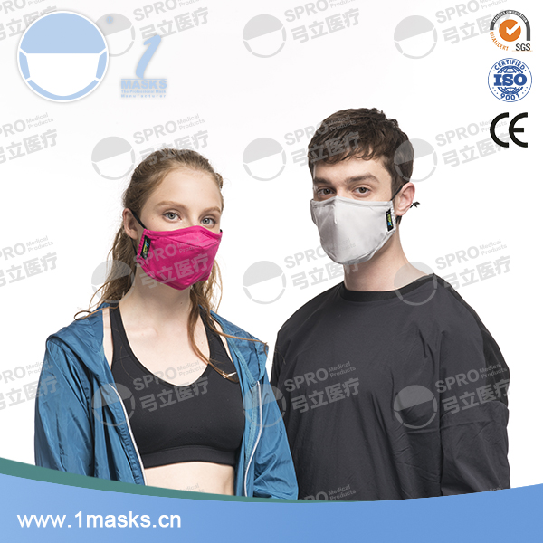 Anti pollution pm2.5 dust earloop cotton face mouth washable mask